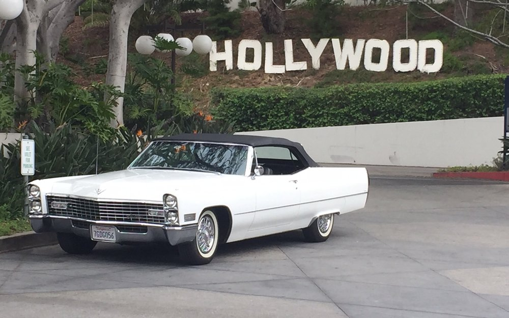 1967 Cadillac Deville convertible - $449/day