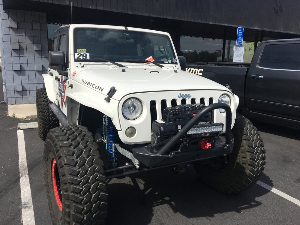 Simply Rent-A-Car — Jeep Wrangler (White) | Classic Car Rental Los ...