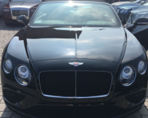 Bentley Continental GTC - $1299/day