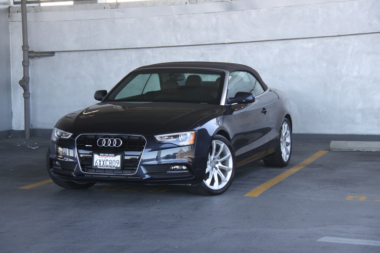 Audi A5 Convertible - $149/day