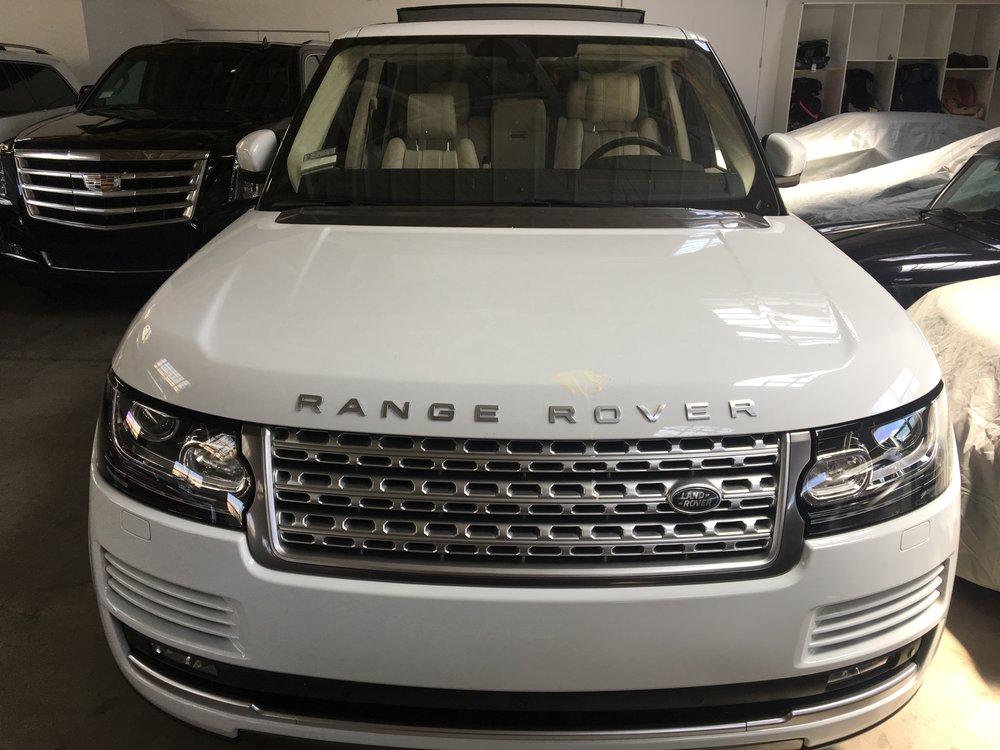 Range Rover (White) -
