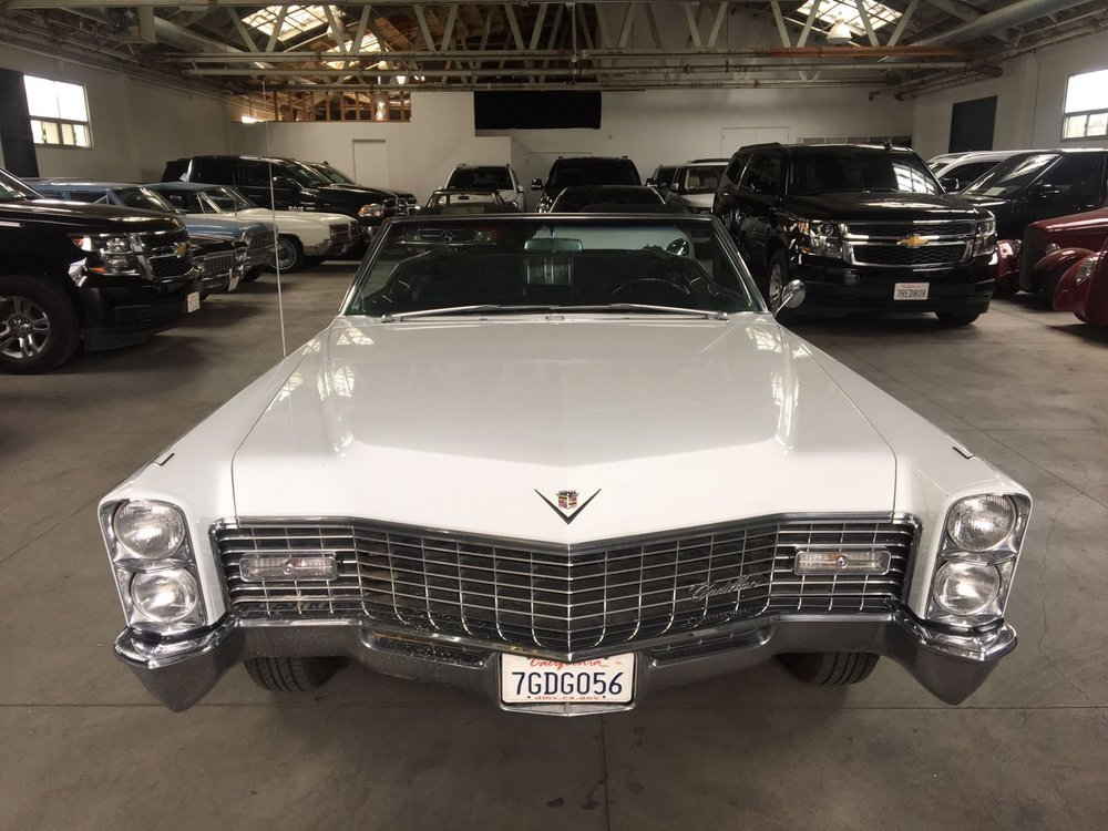 Simply Rent-A-Car — 1967 Cadillac Deville Convertible | Classic ...