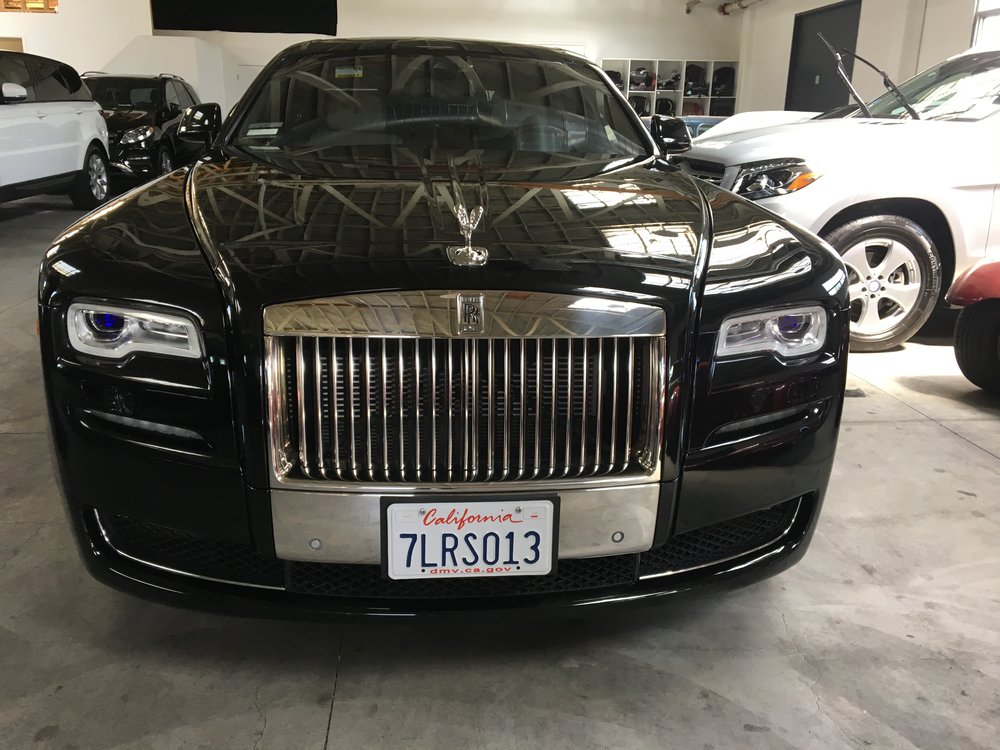 Rolls-Royce Ghost - $999/day