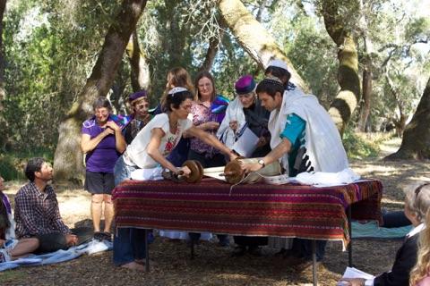 Rosh HaShanah at Ragle Park