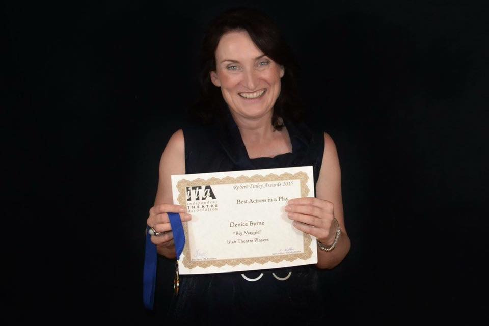 Denice Byrne  - Winner - Best Actress In a Play 2015