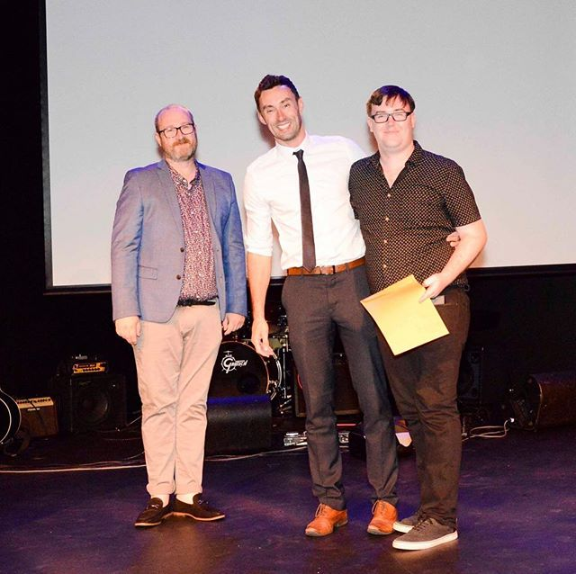 Winners are grinners at the Finley Awards a couple of weeks ago ~ Constellations picking up 3rd best play