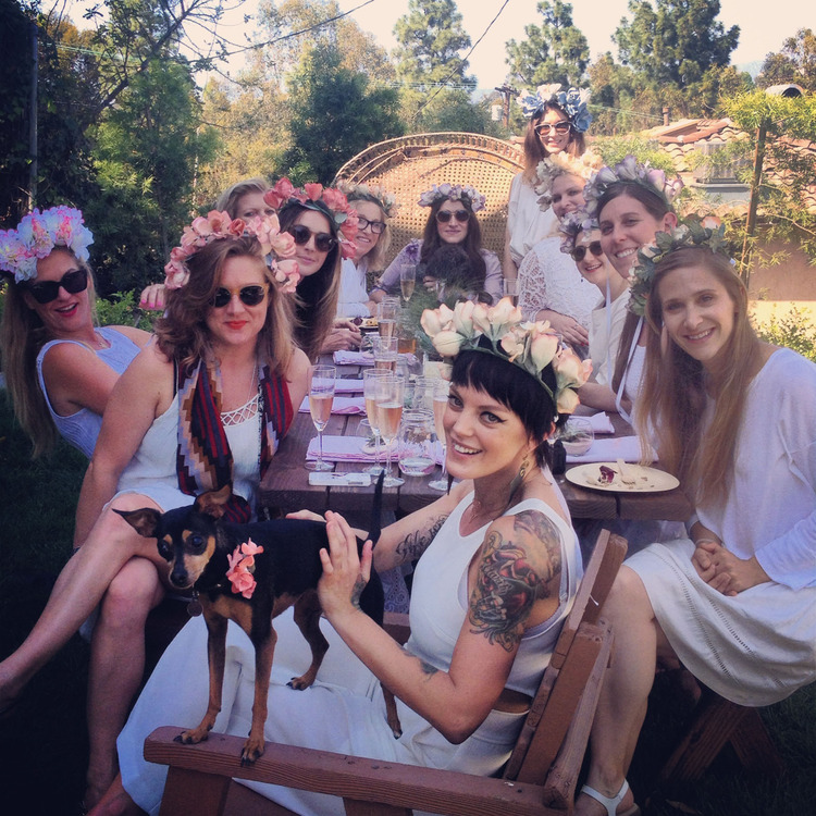 Ladies Who Lunch: The Bridal Shower Before the at the LUX/LODGE.  Image Courtesy of  LUX/EROS