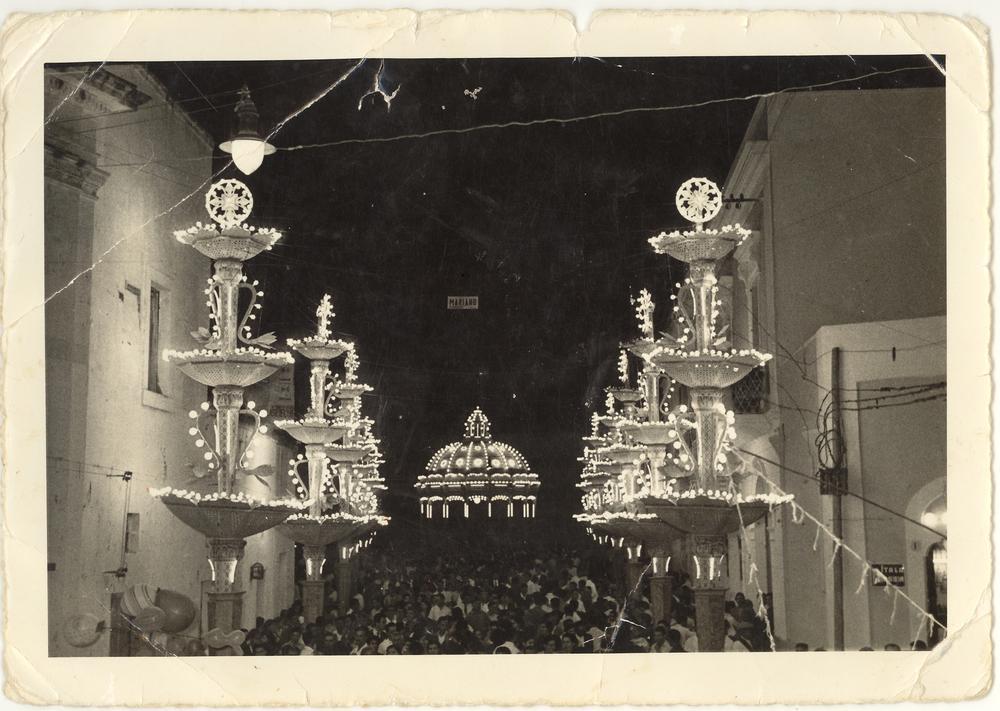 Sogliano Cavour (Le), Festa di S. Lorenzo - 1956