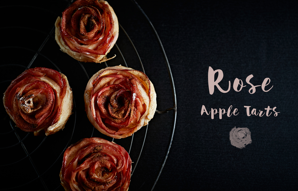 Rose apple tarts