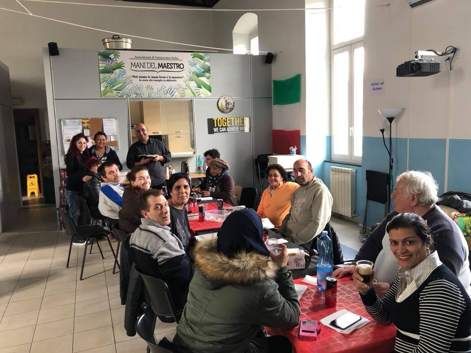 GENOVA - A number of unbelievers are drawing closer to faith in God and He is transforming their lives. There are also zounds of opportunities to spontaneously share the gospel with many people as we distribute food and clothing to needy people in our immediate area.
