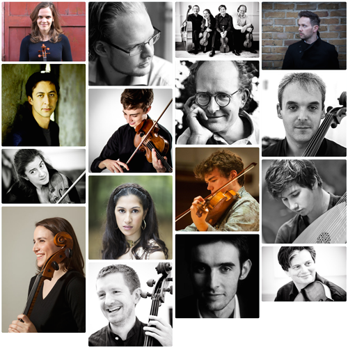 2015 Lewes Chamber Music Festival Artists