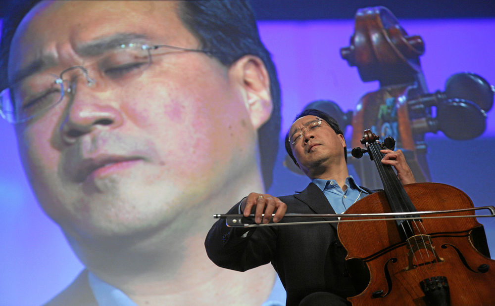 Yo-Yo Ma - World Economic Forum Annual Meeting Davos 2008