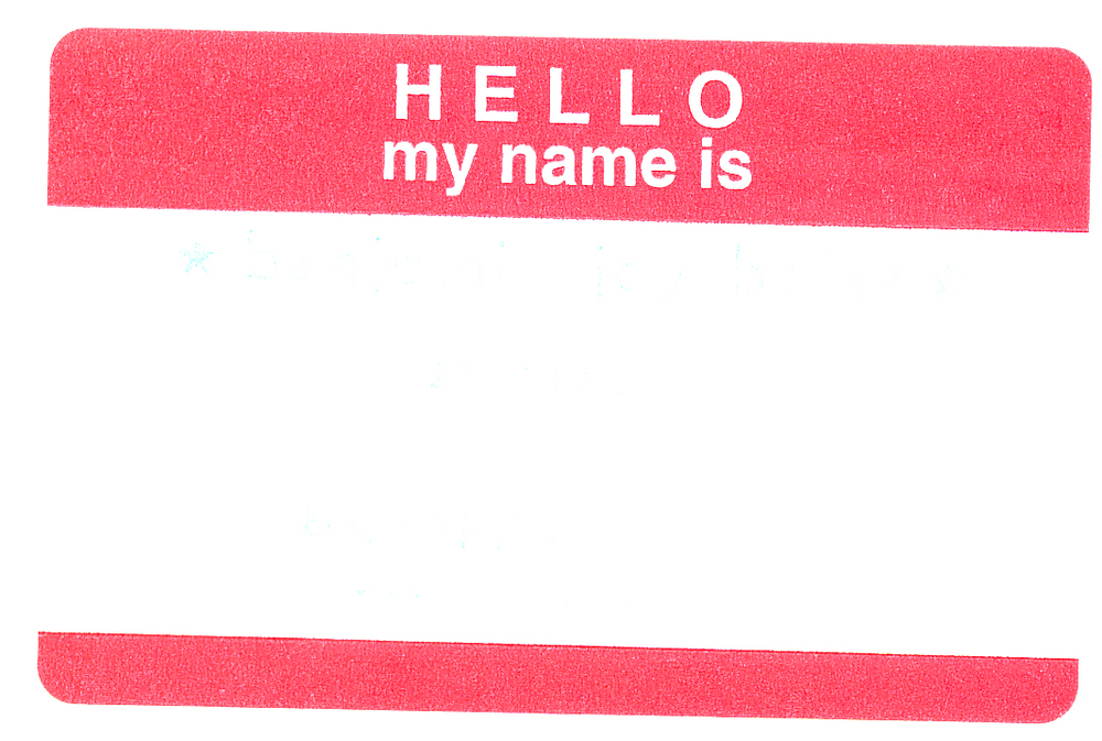 Hello my name is  by Emily Rose / Tako Fibers
