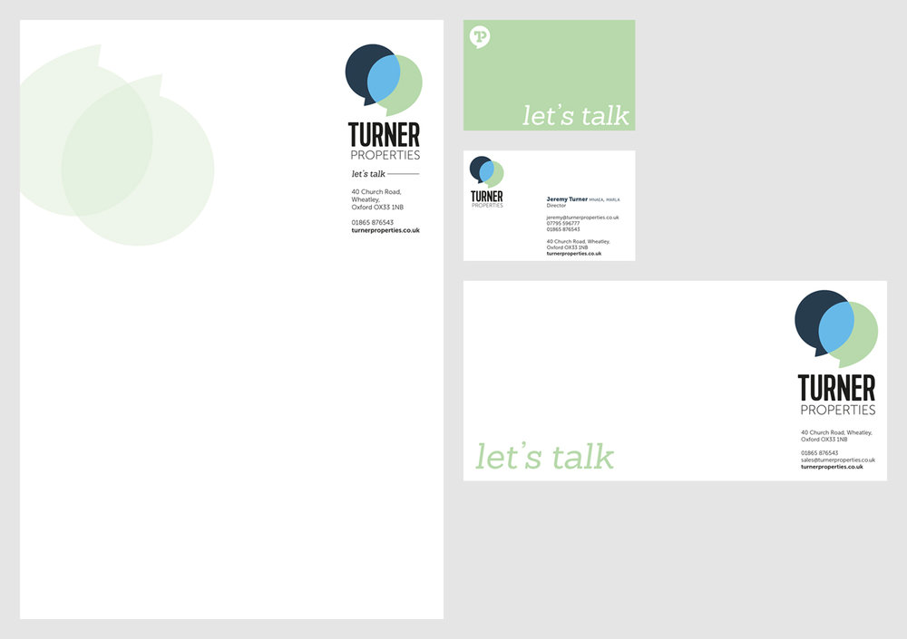 Turner Properties Stationery