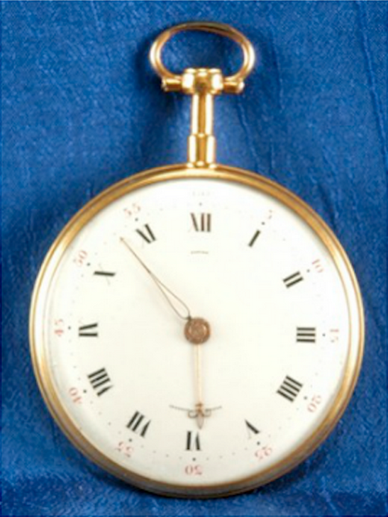 George Washington wore a pocket watch by Lepine. Photo courtesy NAWCC.