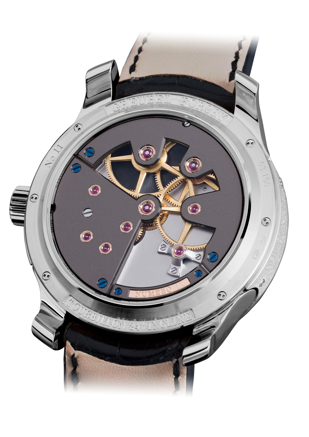 The Tourbillon 24 Secondes Contemporain in white gold