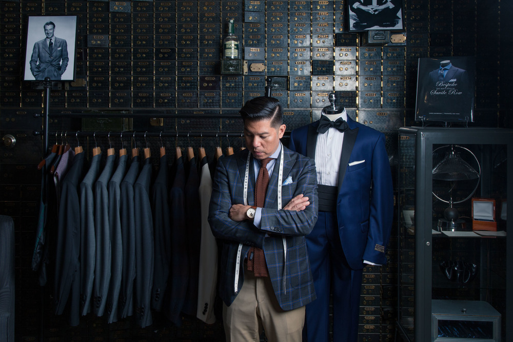 Wingtip Bespoke, a custom clothing atelier unlike any other.