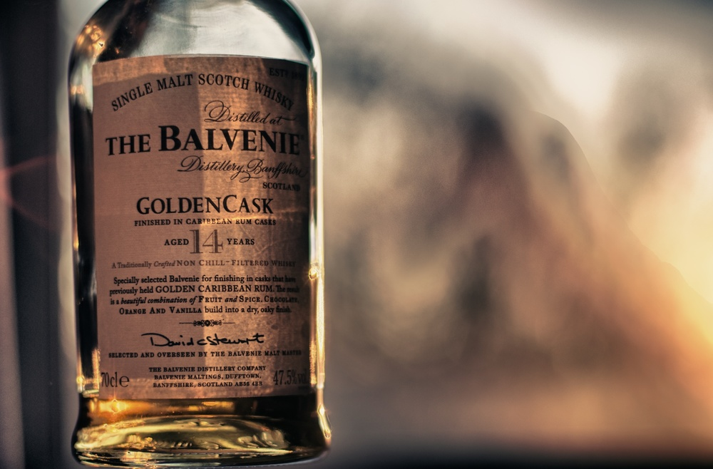 The Balvenie is a range of single malt whiskies crafted by Malt Master David Stewart.