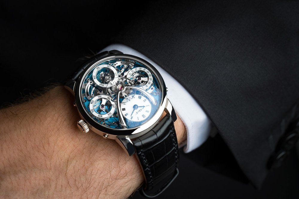 Stephen Silver is the epitome of haute horlogerie with a curated collection of vintage timepieces and unique watch brands.