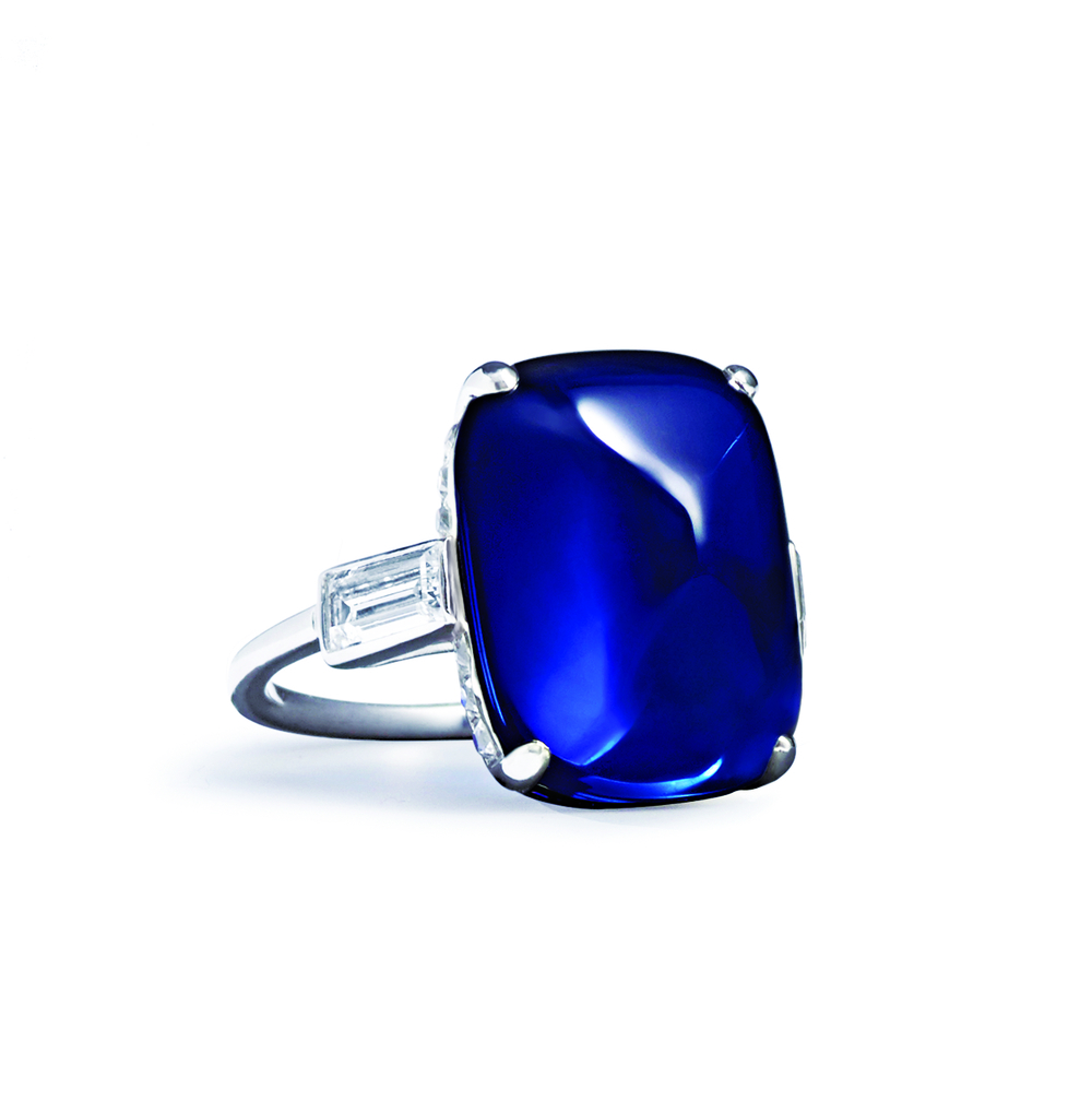 Van Cleef & Arpels Kashmir Sapphire Ring