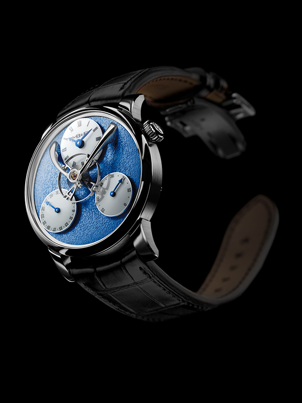 LM Split Escapement Blue