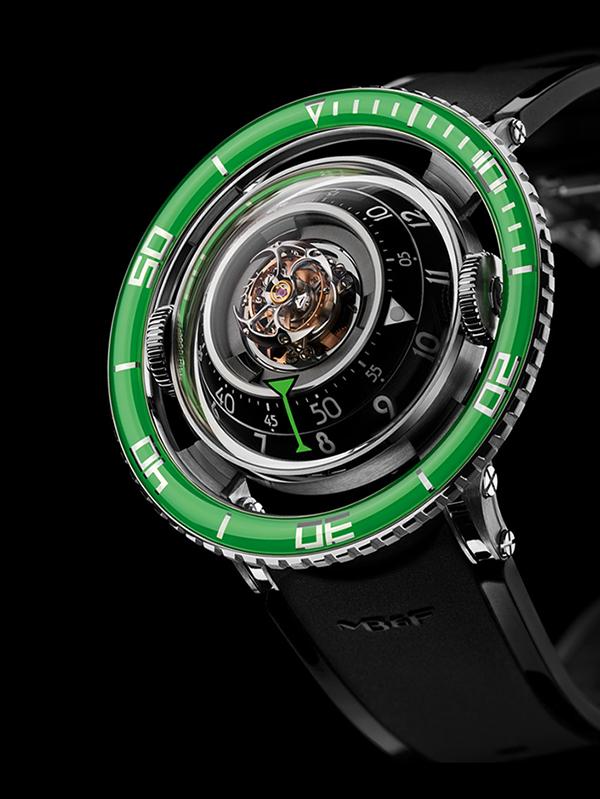 HM 7 Aquapod Titanium Green