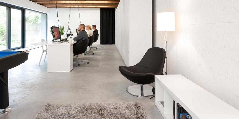 kantoor ruimtemannen | verbouwing