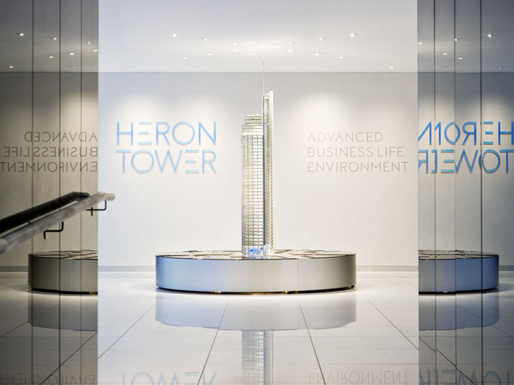 Heron Tower Marketing Suite, London