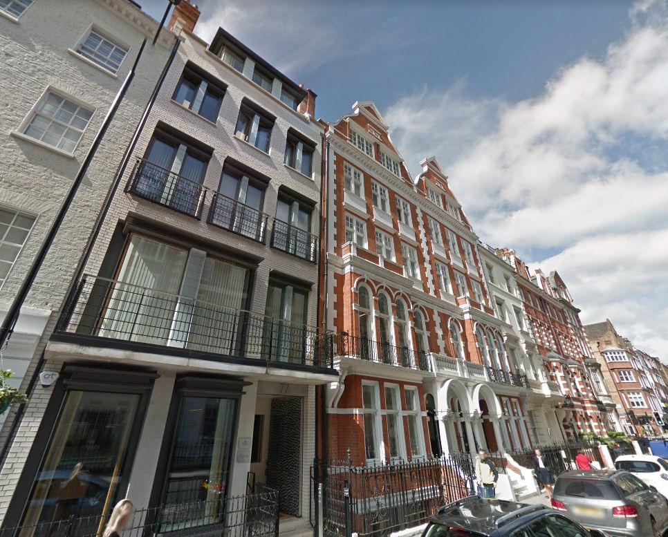 75-78 Wimpole Street, London