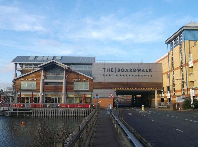 Lakeside 'The Boardwalk', London