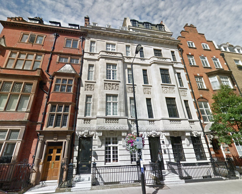 53 Harley Street, London