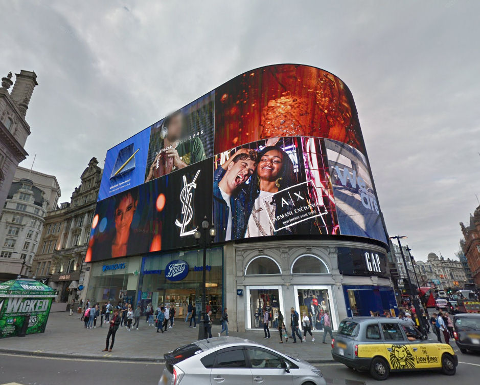 Piccadilly Lights, London