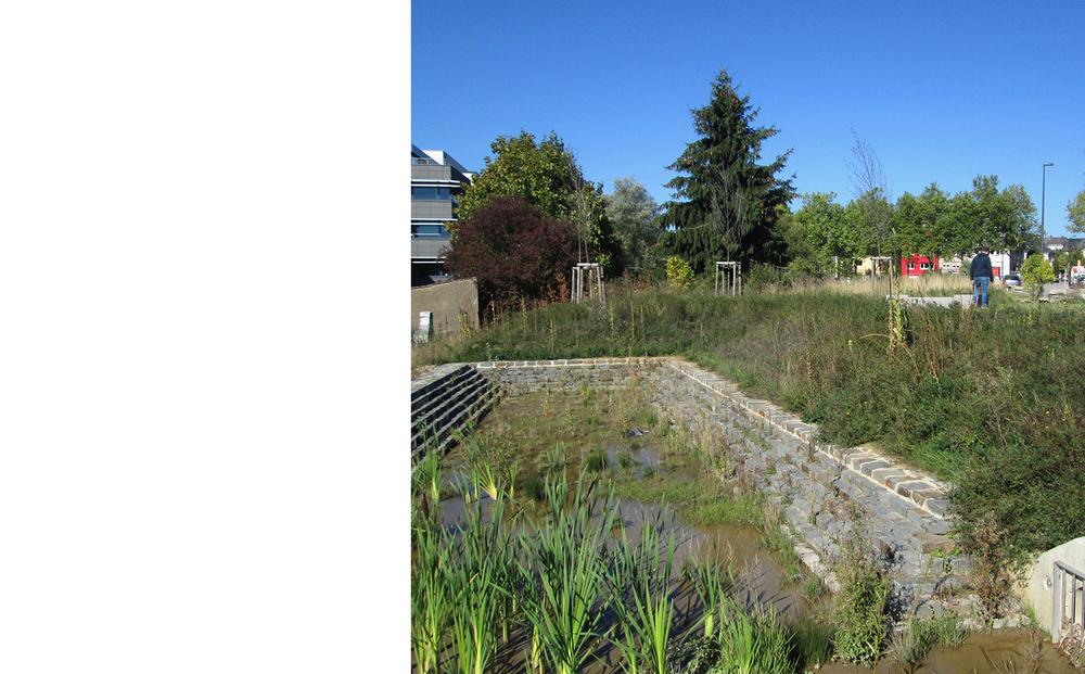 Stormwater management, Jardins de Luxembourg