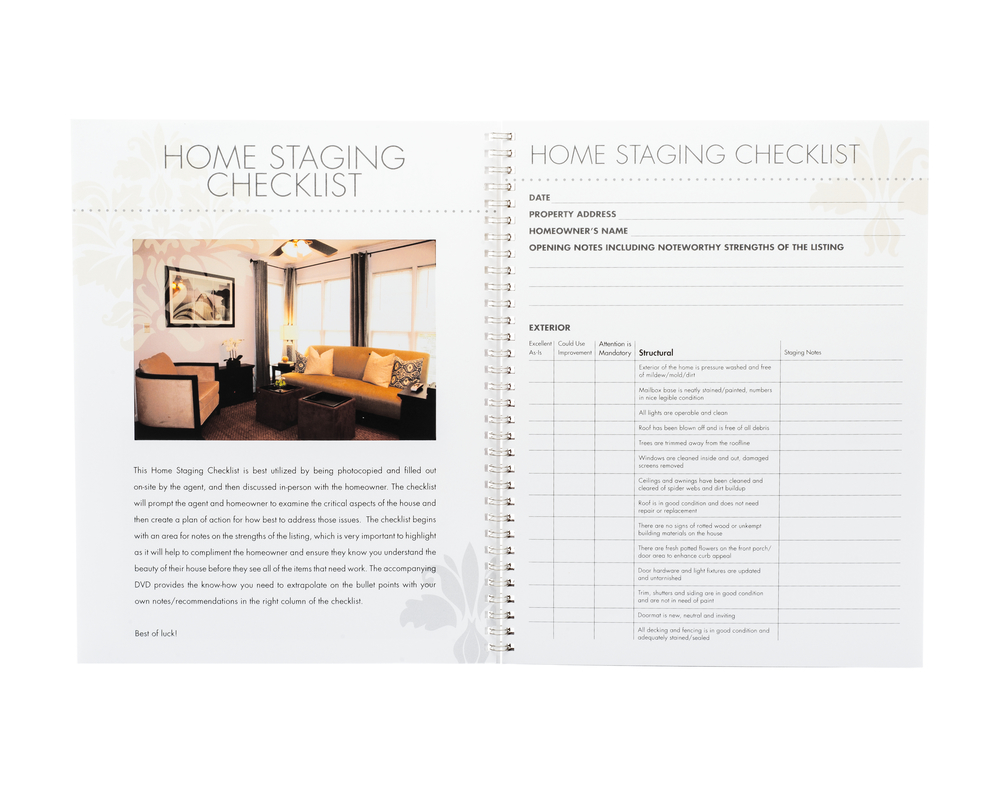 Complete Guide to Home Staging Workbook