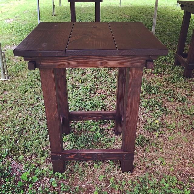 Farm Style Bistro Table