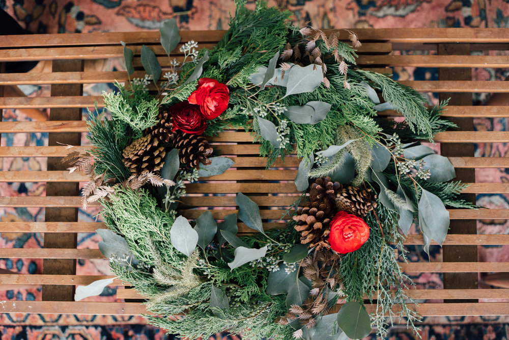 Join us for our wreath workshop  -
