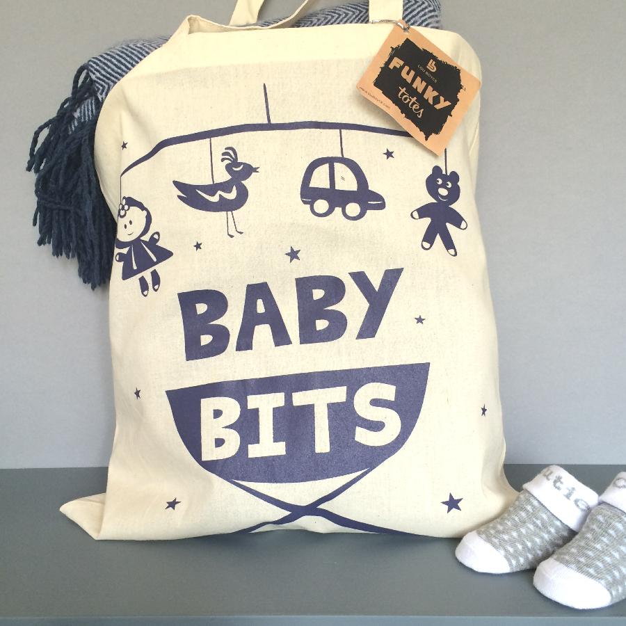 Baby Bits tote bag