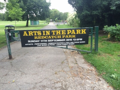 Arts in the Park, Entertaining Knowle, Bristol event