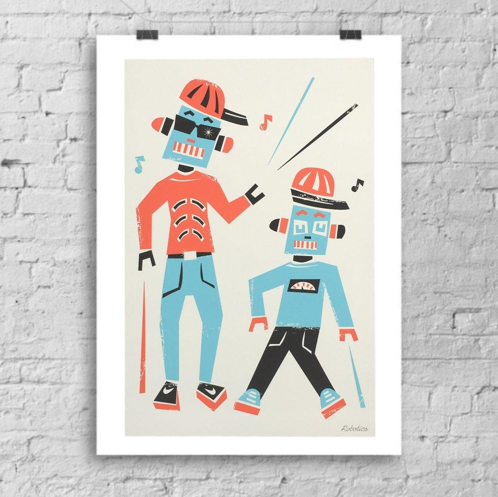 Robot Dancers