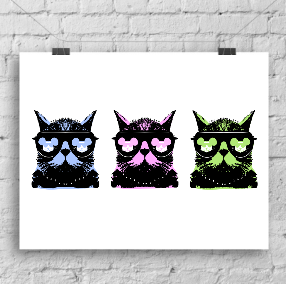 A Trio of Pop Art Prints