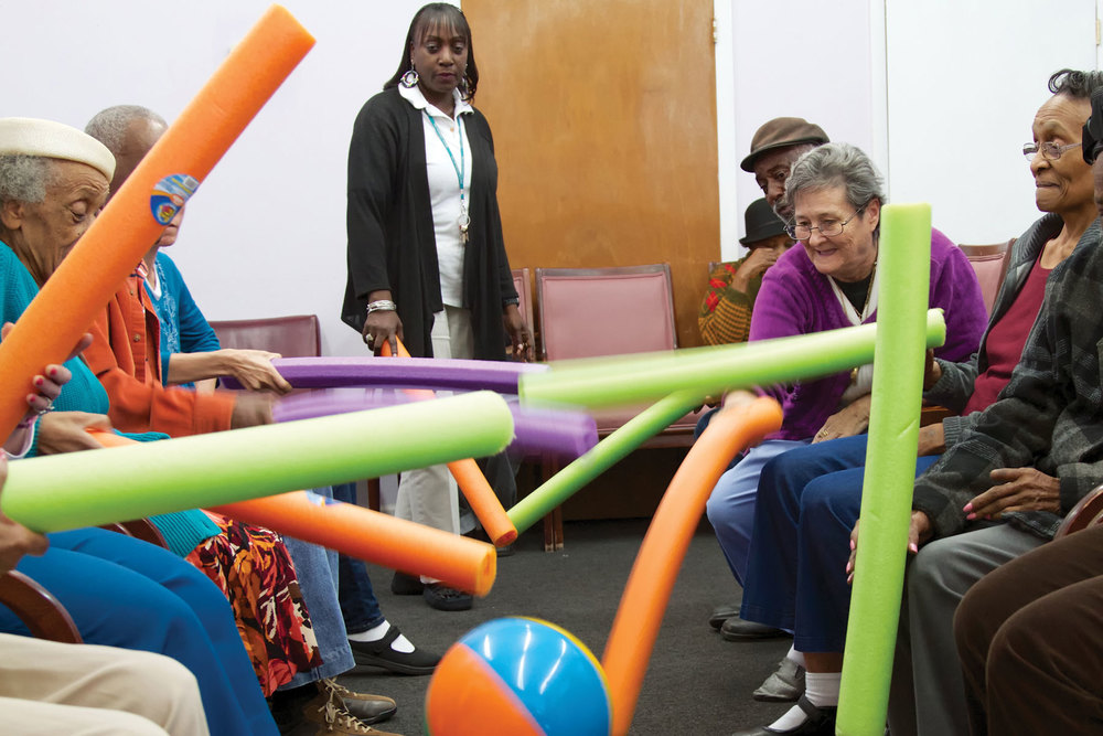 Daily Physical Activities at the Daytime Care Center