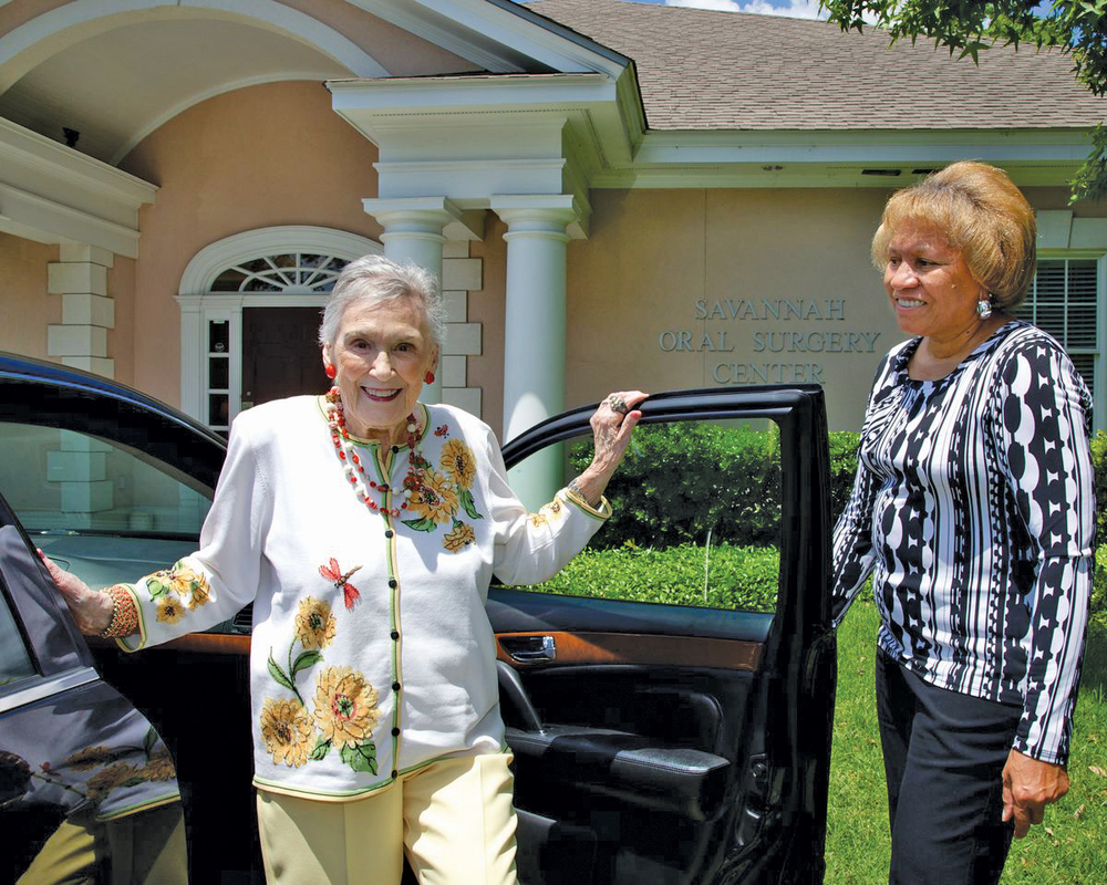 Sterling Rides provide transportation to older adults who can no longer drive or use public transportation.