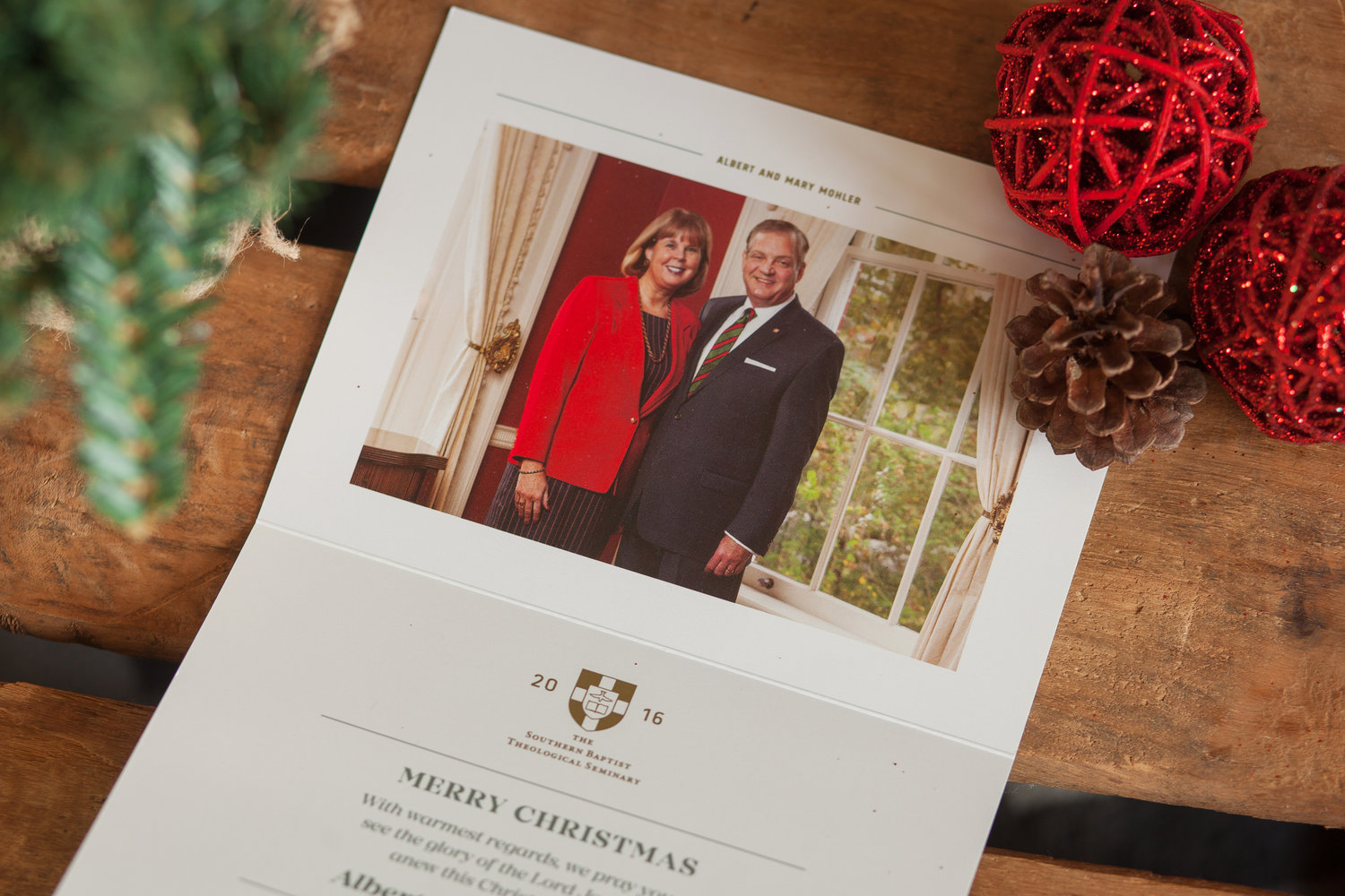 Dr. and Mrs. Mohler   SBTS Christmas Card — Augusta Wedding and ...