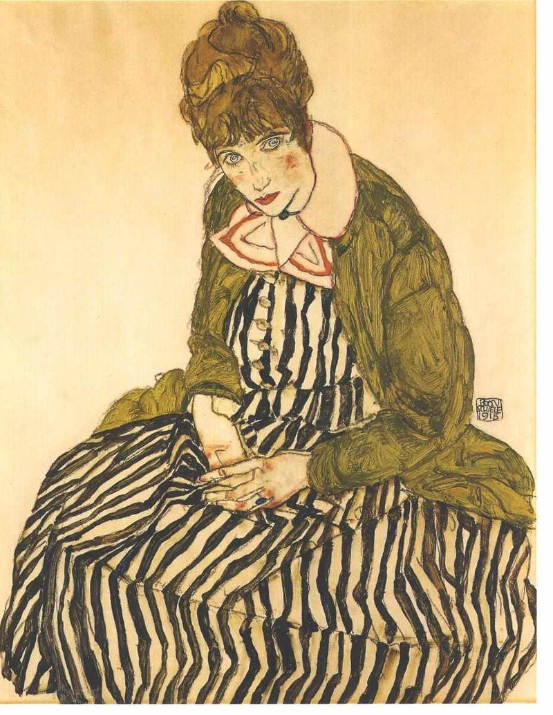 Schiele_-_Edith_Schiele_in_gestreiftem_Kleid_sitzend_-_1915.jpg
