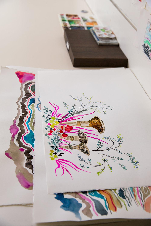 original hand painted designs