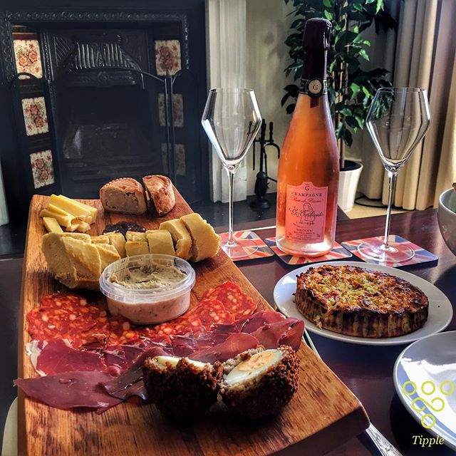 "Food and wine matching often brings people out in a bit of a panic. It's important to remember one rule above all else - if you like them together, ""It works"". I have to admit a love for red meats, scotch eggs and rosé champagne. Go forth and have fun with wine and experiment with new flavours.. Life's too short! #trytipple"