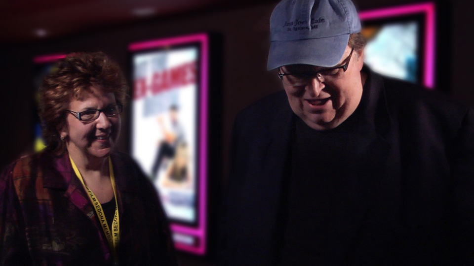 Tami interviews director Michael Moore