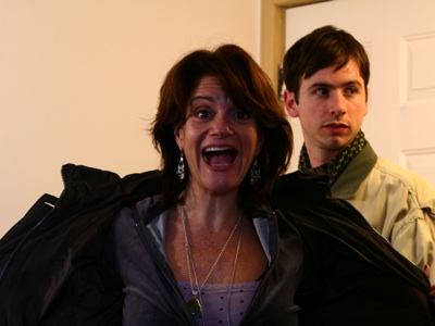Félicia Schulman and Dan Bierne in the story Mum and Pup.