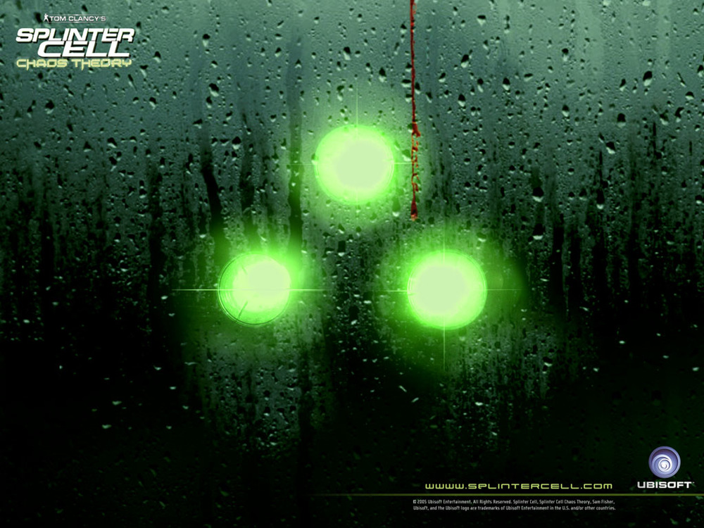SPLINTER CELL:CHAOS THEORY (CINEMATICS AD)