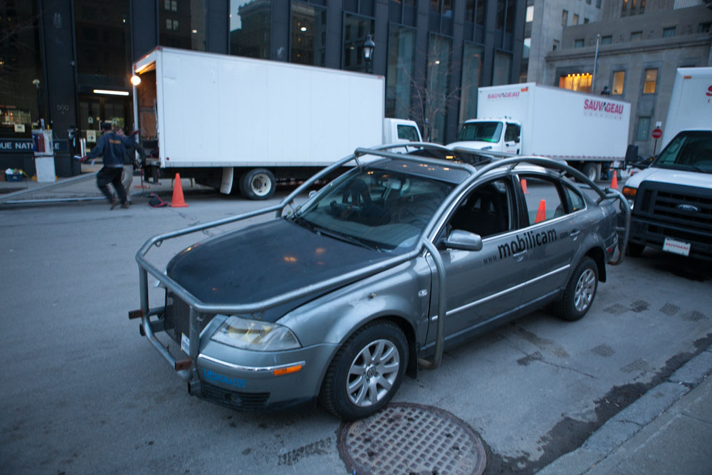 The Camera car before any of the camera rigs were attached